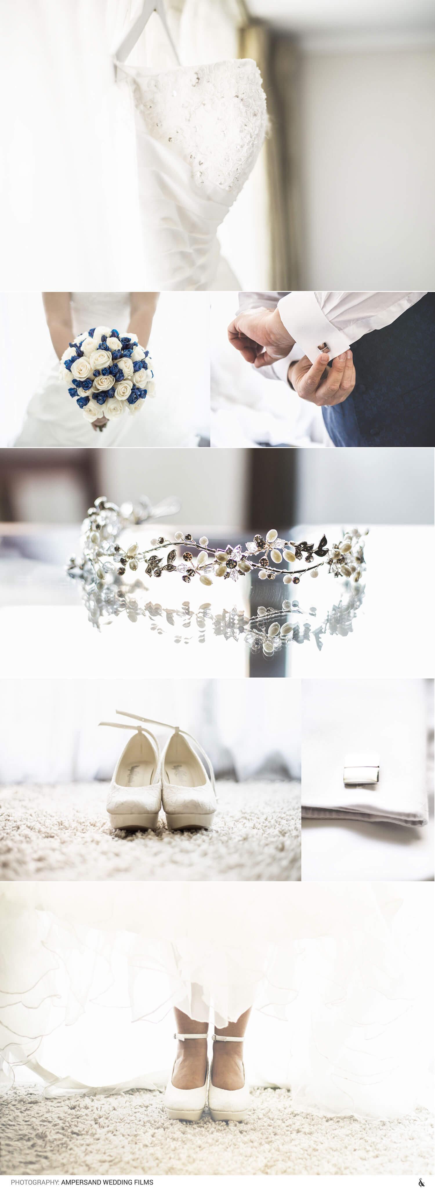 preparativos del matrimonio novio y novia