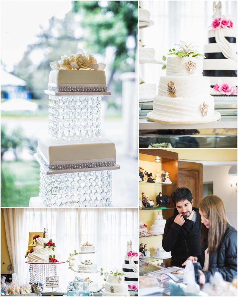 Sesión preboda en pastelería candelle